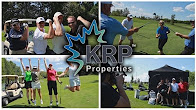 Collage of photos from the Red Dragon Golf Classic