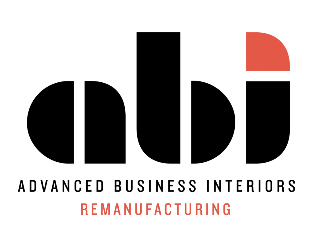 letters a.b.i. Advanced Business Interiors Remanufacturing