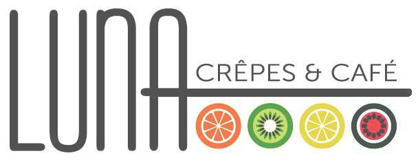 Luna Crepes and Cafe logo