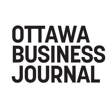 ottawa business journal logo in black text